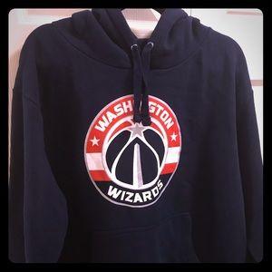 Navy blue Washington Wizards Fanatics hoodie